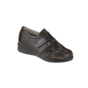 zapato mujer cerrado marrón