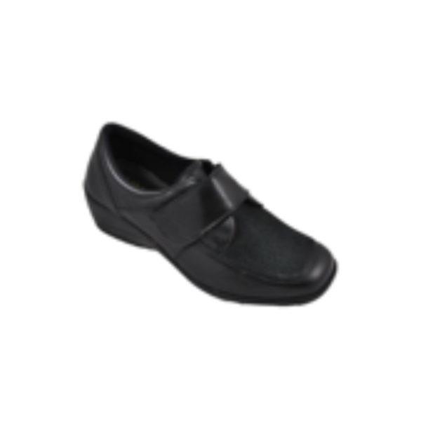 zapato mujer cerrado velcro
