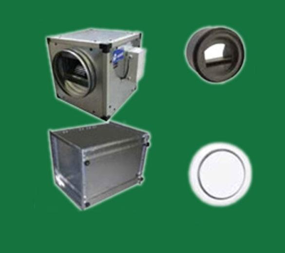 Purificadores de aire con instalación